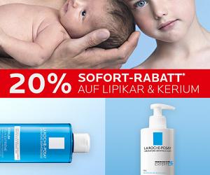 20% Sofortrabatt auf Lipikar & Kerium